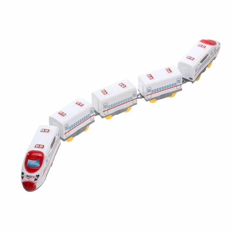 Jugetes 파라 ninos smalll 전기 기차 하모니 에뮤 섹션 5 기차 cars 모델 장난감 diecasts & 장난감