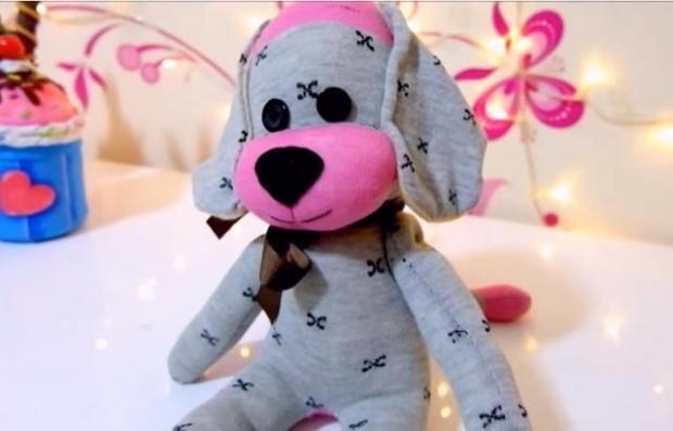 Video - ako ušiť psíka z ponožky | Artmama.sk