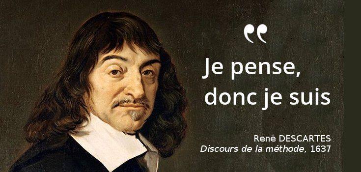 11 février 1650 : mort de Descartes, auteur du tweet philosophique le plus célèbre !