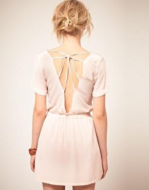 .: Lace, Drapes Minis, Backless Dresses, Mini Dresses, Backless Top, Minis Dresses 3, Zoe Silk, Silk Drapes, Minis Dresses Wish