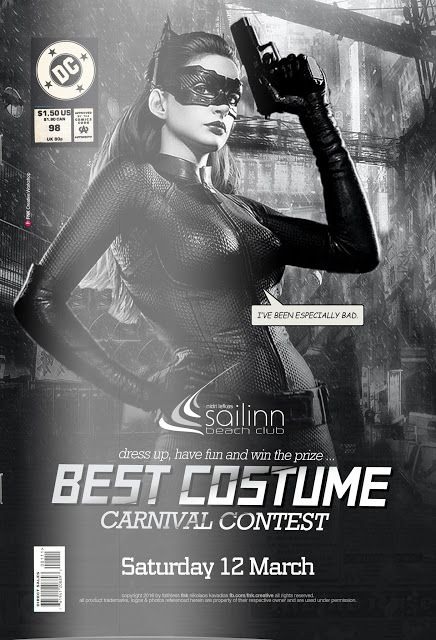 Best Costume Carnival Contest: Event Poster