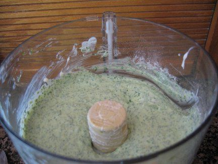 Cilantro Jalapeno Dip---Try substituting with coconut greek yogurt
