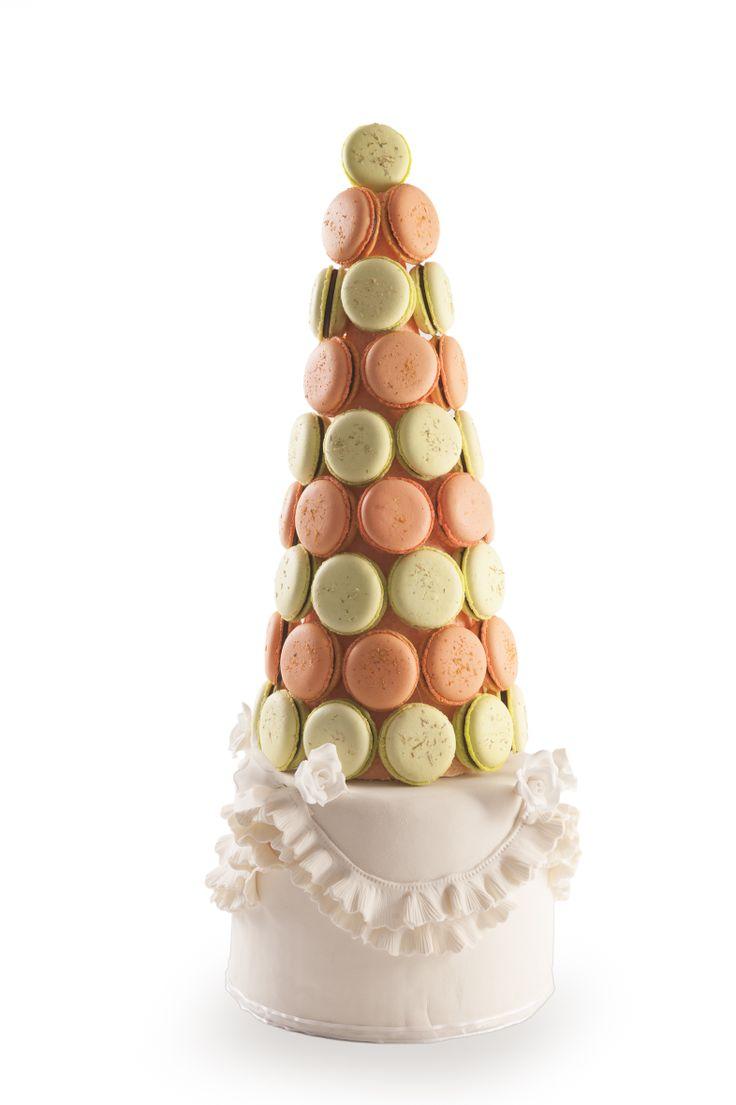 Torre de Macaron  #torre #macaron #macarron #postre #sweet #deset #LaPetitePatisserie #yummy #class #clasial