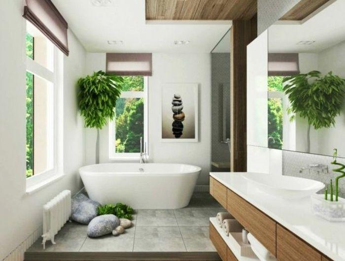 Comment incorporer l'ambiance Zen dans le salon et dans la salle de bain? Idées en 40 photos!