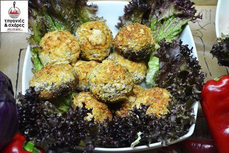Γεμιστά μανιτάρια με philadelphia ψημένα στον φούρνο έτοιμα για να σας απογειώσουν…!!! Οι Τηγανιές & Σχάρες σας φροντίζουν με τους καλύτερες συνταγές για το καλοκαίρι…  #Stuffed Mushroom #Σούβλες #meat #paradise #Τηγανιές& #Σχάρες#Ψητοπωλείο#Θεσσαλονίκη #Λαδάδικα #delivery #online #order