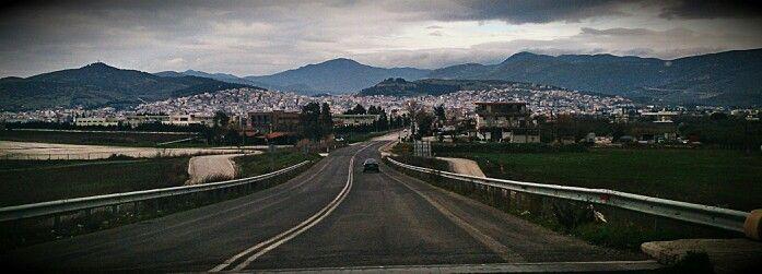 Lamia-Fthiotis.Old Nat.Road Athinon-Lamias..
