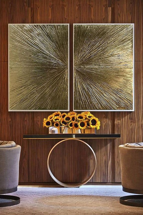 Best 25 Gold painted walls ideas on Pinterest