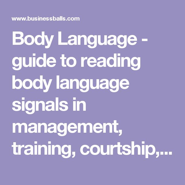 how to read body language and flirting