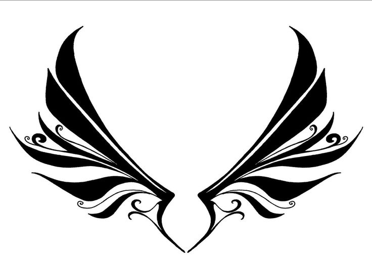 1000 Images About Band Logo Ideas On Pinterest Wings Heart With