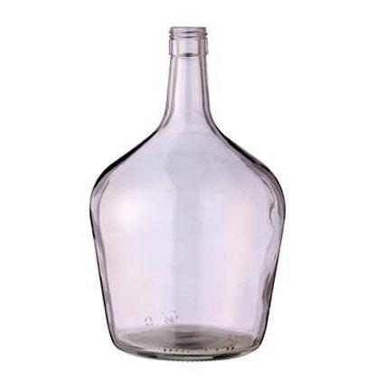 Mooie flessenvaas  van Bloomingville in een transparant lichtrose kleur. Deze vaas is neutraal van kleur en past eigenlijk overal bij.