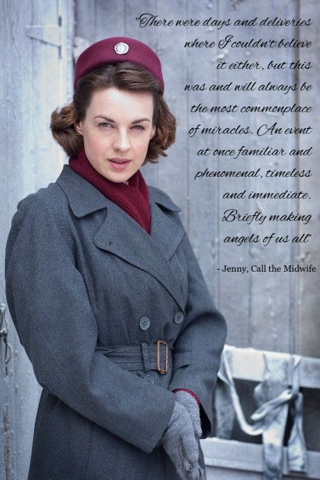 Call the Midwife Christmas Special season 1.  One of the best quotes about angels ever.