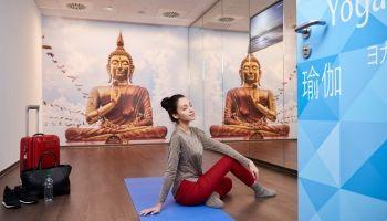 В аэропорту Франкфурта открыты залы для занятий йогой | Head News