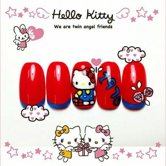 キティちゃん好きにはたまらないキティちゃん柄のネイルで、かわいくおしゃれしよう♡  みんなのネイルもKawaii★Camで自慢してね!   All you Hello Kitty fans, check out these perfect nails!  Take pictures of your nails and upload them on Kawaii★Cam ♡   Photo taken by dabaoDIDI on Kawaii★Cam    JoinKawaii★Camnow :)   For iOS:   https://itunes.apple.com/jp/app/kawaii-xie-zhen-jia-gonghakawaiikamu*./id529446620?mt=8    For Android :   https://play.google.com/store/apps/details?id=jp.co.aitia.whatifcamera    Follow me on Twitter :)…