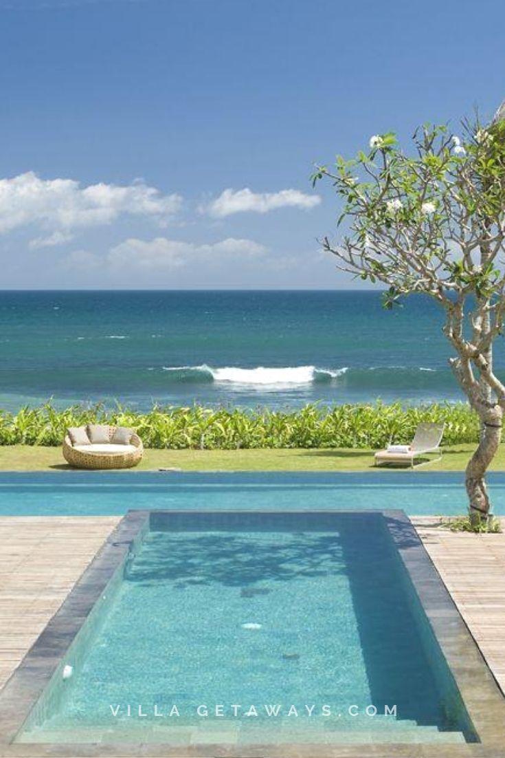 Bali Beachfront Villa Villa Ocean View Balcony Beachfront Property