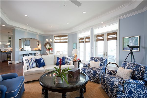1000 Images About Living Room Decor Brown Blue And