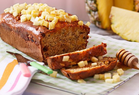Dr Joanna McMillan's pineapple zucchini bread
