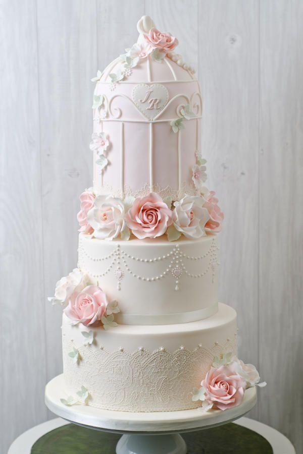 Vintage Birdcage - Cake by Joanna Rose