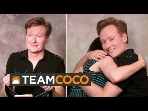 ▶ Conan Auditions For TV Commercials - i pretty much laugh at everything he says. always.