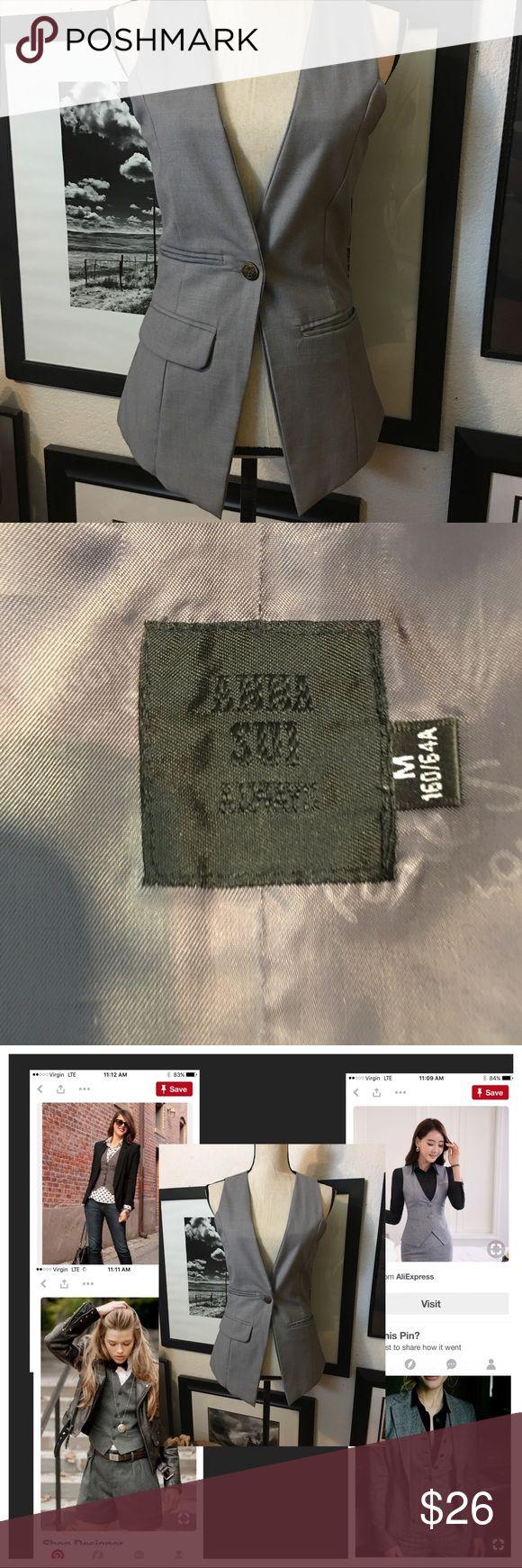 Anna Sui vest Details Anna Sui Jackets & Coats Vests
