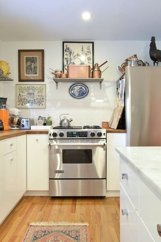 http://www.apartmenttherapy.com/the-number-one-secret-to-a-timeless-kitchen-personality-224191