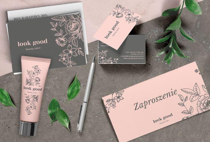 colour.me #pastelowe propozycje wydruków firmowych dla branży #beauty - #wizytówki, #zaproszenia #składane, #pocztówki. Gotowe #szablony do wydrukowania online.