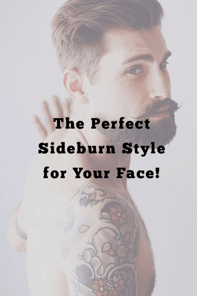 7 Factors to be Considered While Choosing the Perfect Sideburn Style for Your Face!