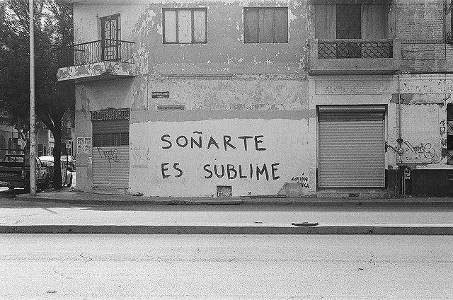 Soñarte es sublime