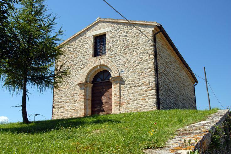 Chiesina rurale della Madonna del Monte #marcafermana #monsampietromorico #fermo #marche