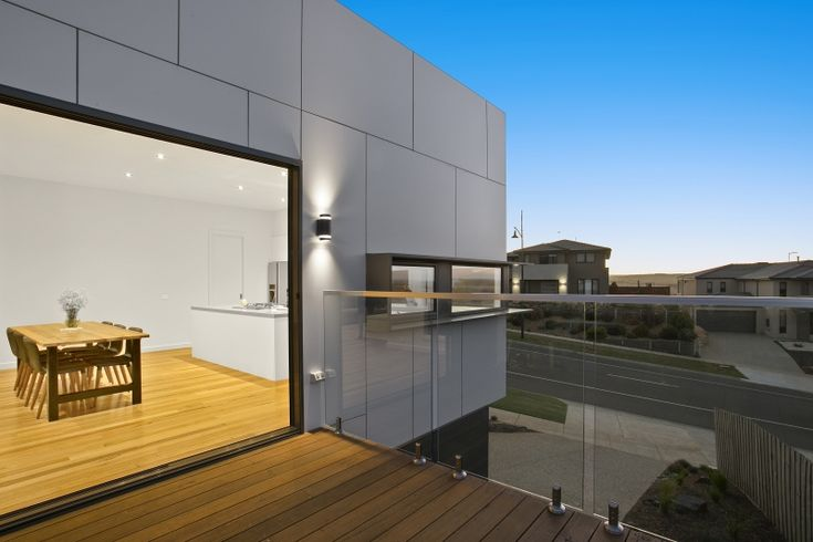 Scyon Matrix on point on this Highton property designed and constructed by Pivot Homes.