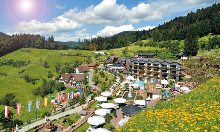 Hotel Dollenberg, Bad Peterstal - Griesbach, Germany. #relaischateaux #mountain #summer #holliday