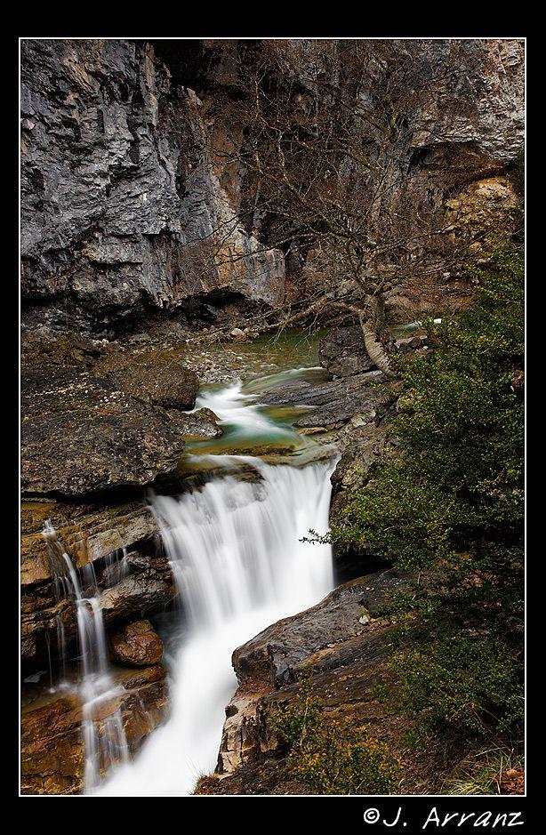 Cascada en el Valle de Añisclo