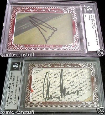 Golf Cards 4240: Ernie Els And Gary Player 2012 Leaf Masterpiece Cut Signature Auto Signed 1 1 Jsa -> BUY IT NOW ONLY: $95 on eBay!