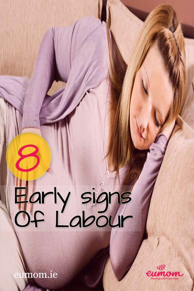 Read our expert advice on 8 classic signs you may experience in the early stages of labour! Pay attention with #6.