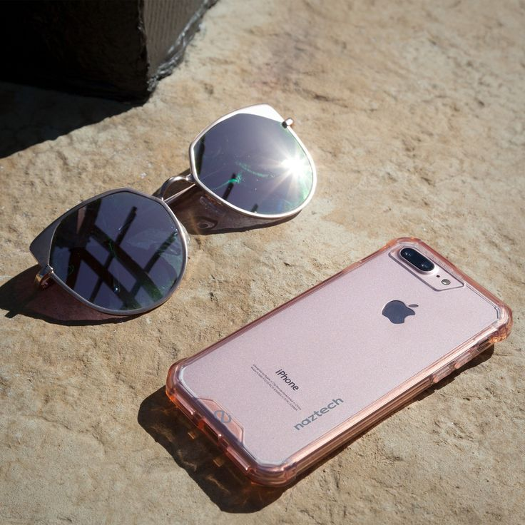 Naztech Hybrid Hardshell Clear Back Phone Case for iPhone 6s/7/8 Plus Rose Gold  #appleiphone #samsung #iphone5 #iphone6 #iphone7 #iphone8 #samsunggalaxycase #iphoneology #galaxys8 #phonecover #smartphone #galaxy #iphone #technology #mobile #note5 #s8 #android #phonecase #samsunggalaxycover #samsungcase #apple #note8 #iphonecase #iphone8cover #samsunggalaxys8