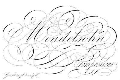 Amazing French Ephemera - Typography - Mendelsohn..print onto fabric at www.greenparkstudios.com.