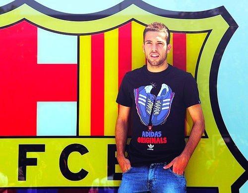 welcome, Jordi Alba!