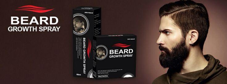 Beard Growth Spray® - the best facial hair supplement - 100 % pure ...