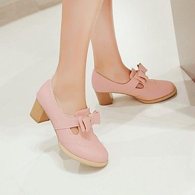 Women's Shoes Round Toe Chunky Heel Pumps Shoes More Colors Available 2016 - $29.99