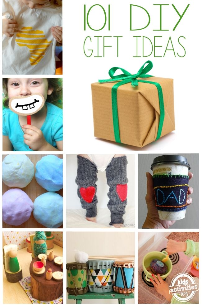 101 DIY Gifts for Kids | All Things Parenting | Pinterest | Diy ...