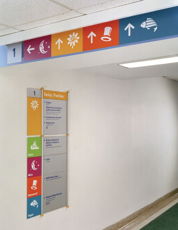 Boston Children's Hospital by Christopher Dina, via Behance...trying to decide if this is good or more confusing...maybe different pictures?! but the idea is wonderful for a childrens hospital!!