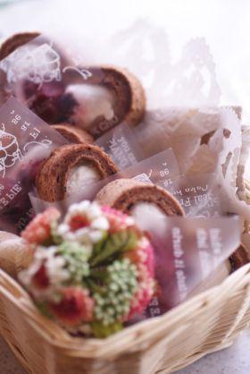 「ハートのロールケーキ」ぽんのすけ | お菓子・パンのレシピや作り方【corecle*コレクル】