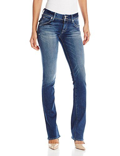 Hudson Women's Beth Midrise Baby Boot Jeans, Del Mar, 29 -- You can get additional details at the image link. (This is an affiliate link) #Jeans