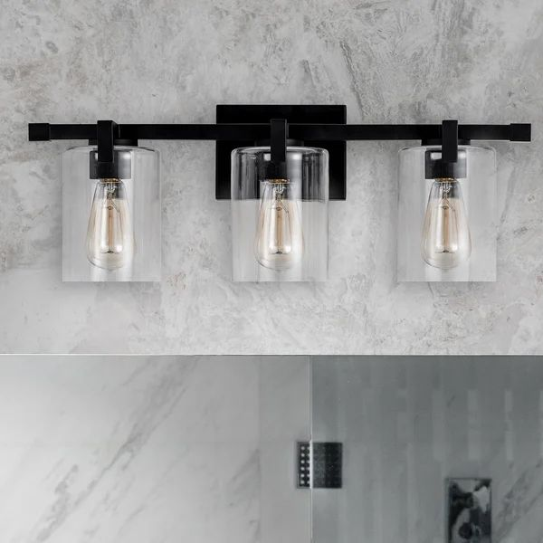 Pin On Home, Modern Bathroom Light Fixtures Black And White
