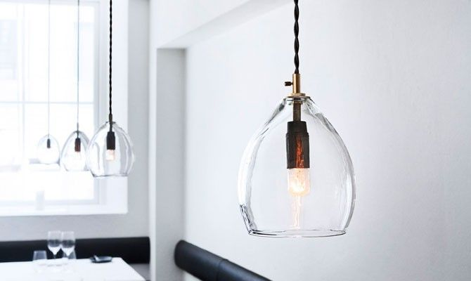 High/Low: Handblown Glass Pendant Light