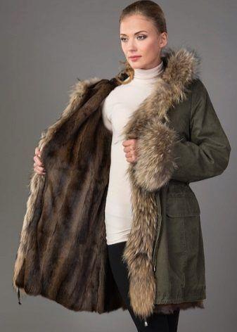 Как правильно выбрать меховую парку женскую, детскую, каким производител…    Пальто   Fur, … d76bac5354f