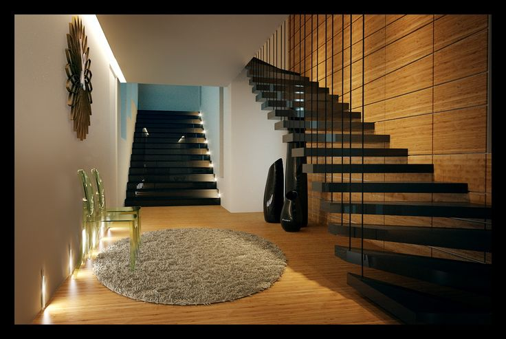 Contemporary Private Apartment - Hungary / hall