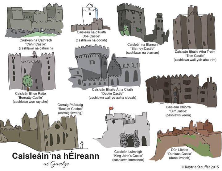 Caisleáin na hÉireann (Castles of Ireland)