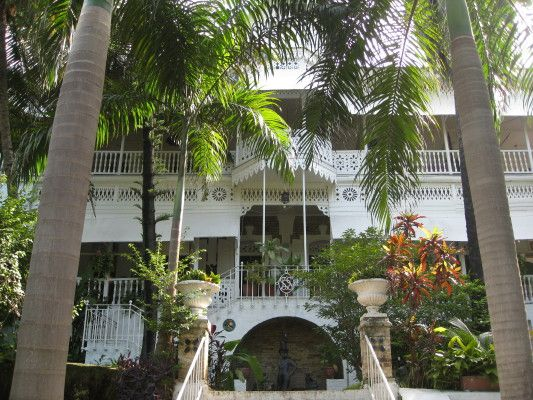 I visited Hotel Oloffson,  Port au Prince,  Haiti just months before the earthquake.... I will never forget how beautiful it was !