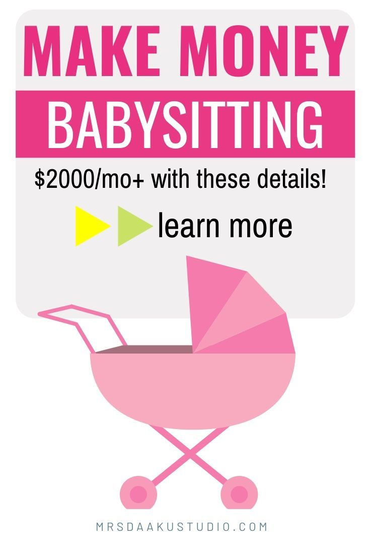 Babysitting Jobs Near Me Earn 2k A Month And More In 2020