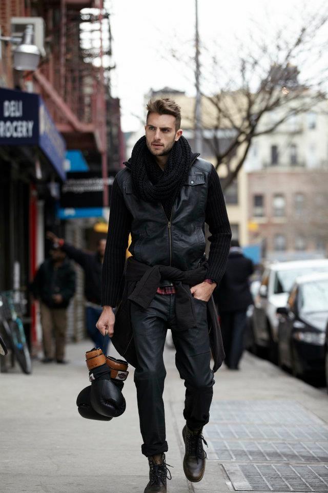 Black: Modern Fashion, Guys Fashion, Boxes Gloves, Street Style, Men Style, Menstyle, Men Fashion, Gentleman Style, Fashion Boots